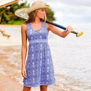 Athleta Vinyasa Printed Sleeveless Yoga Dress M